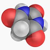 Barbituric acid molecule