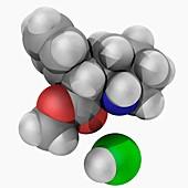 ADHD drug molecule