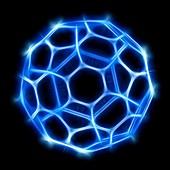 Buckyball,Buckminsterfullerene molecule