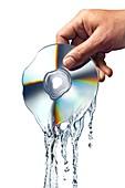Melting CD,artwork