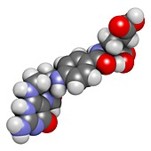 Folinic acid drug molecule