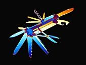 Penknife,X-ray artwork