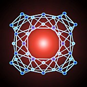 Boron buckyball,artwork