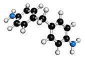 Methylenedianiline molecule