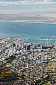 View from Table Mountain,Cape Town