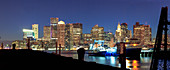 View of Boston Harbour