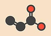 Acrylic acid molecule