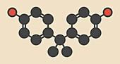 Bisphenol molecule