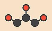Glycerin molecule