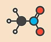 Nitromethane nitro fuel molecule