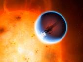 Artwork of Planet HD189733b