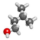 Isoamyl alcohol molecule