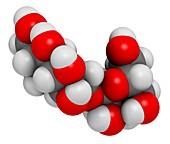 Isomalt sugar substitute molecule