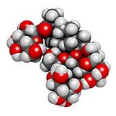 Rebaudioside A molecule