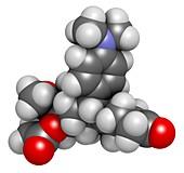 Ulipristal acetate contraceptive drug