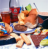 Organic junk foods