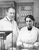 Hahn and Meitner,German chemists