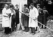 German spaceflight society (VfR),1930