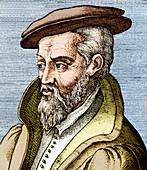 Georgius Agricola,German mineralogist