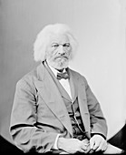 Frederick Douglass,US abolitionist