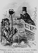 Michael Faraday,British chemist & water pollution
