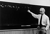 Murray Gell-Mann at CERN,1979