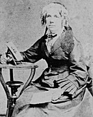 Portrait of Maria Mitchell,American astronomer