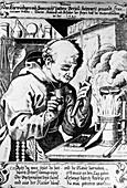 Berthold Schwarz,gunpowder pioneer