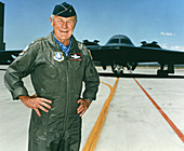 Charles Chuck Yeager,American pilot