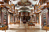 Library of St Gall's Abbey,Switzerland