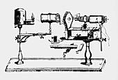 Bonanni's horizontal microscope of 1691