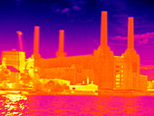 Battersea Power Station,thermogram