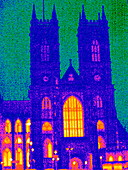 Westminster Abbey,UK,thermogram