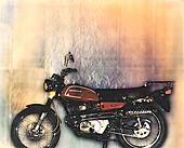 Motorcycle,Schlieren image