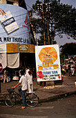 Billboard warning against AIDS,Vietnam