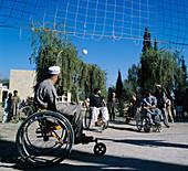 Wheelchair volleyball