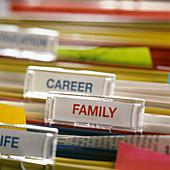 Family before career