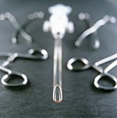 Manual vacuum abortion equipment