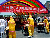 IRCAD cancer building ceremony,Taiwan