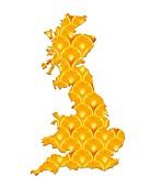 British diet,conceptual artwork