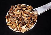 Dried angostura bark