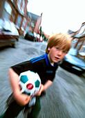 Child street danger