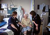 Nurses and patient