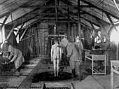 First World War poison gas treatment