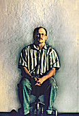Human thermal plume,Schlieren image