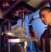 Sports footwear testing