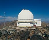 Du Pont 2.5-metre telescope at Las Campanas,Chile