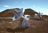 SubMillimetre array telescopes