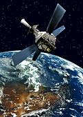 Gravity Probe B satellite
