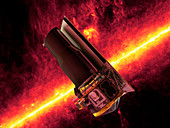 Spitzer Space Telescope,artwork